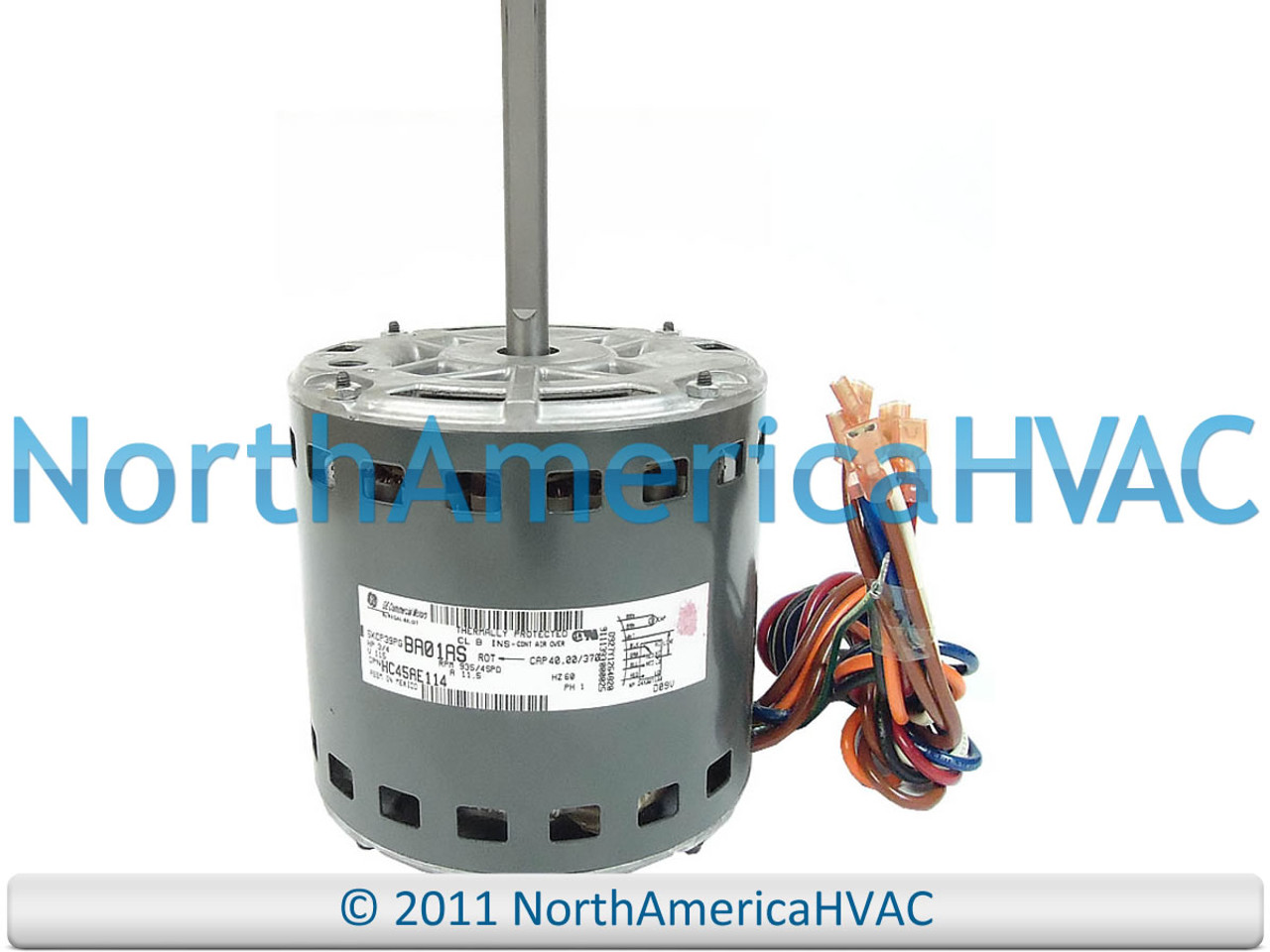 GE Carrier Bryant 3//4 HP 230 BLOWER MOTOR 5KCP39PGS083S