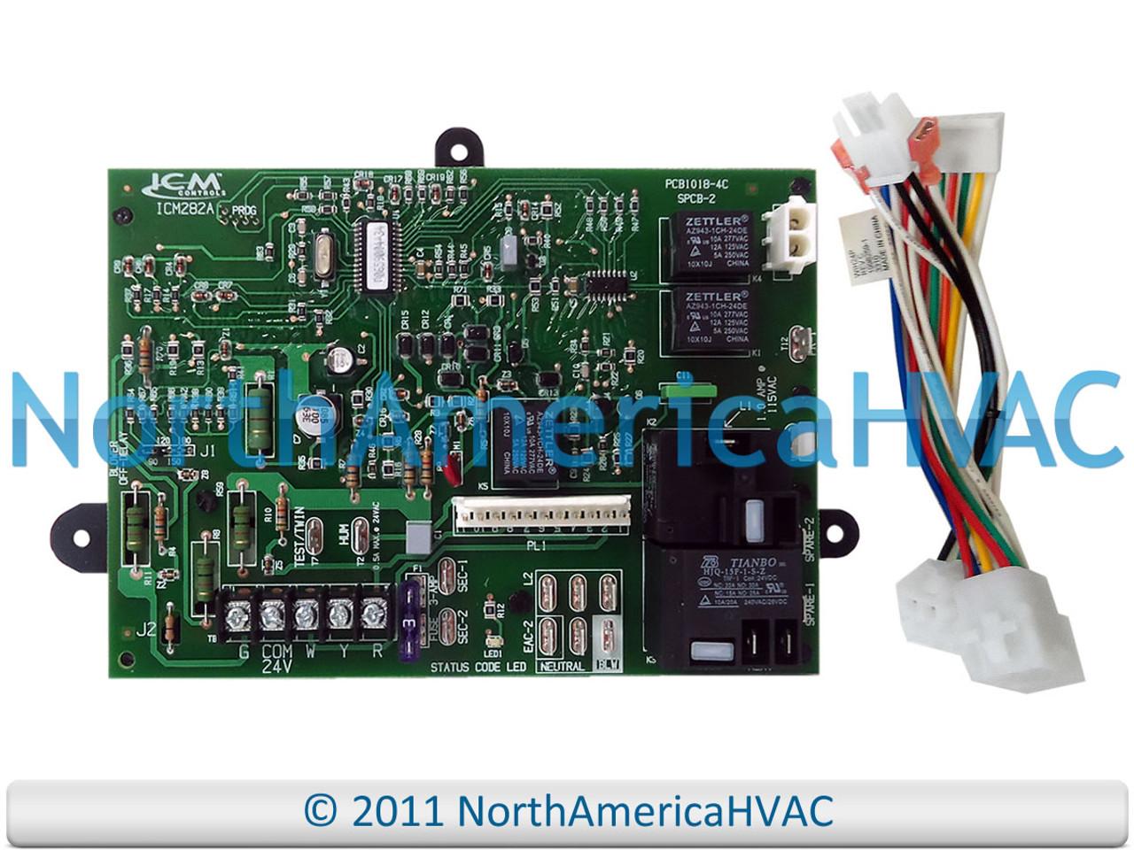 Carrier Bryant HK42FZ009 1012-940-F Furnace Circuit Board