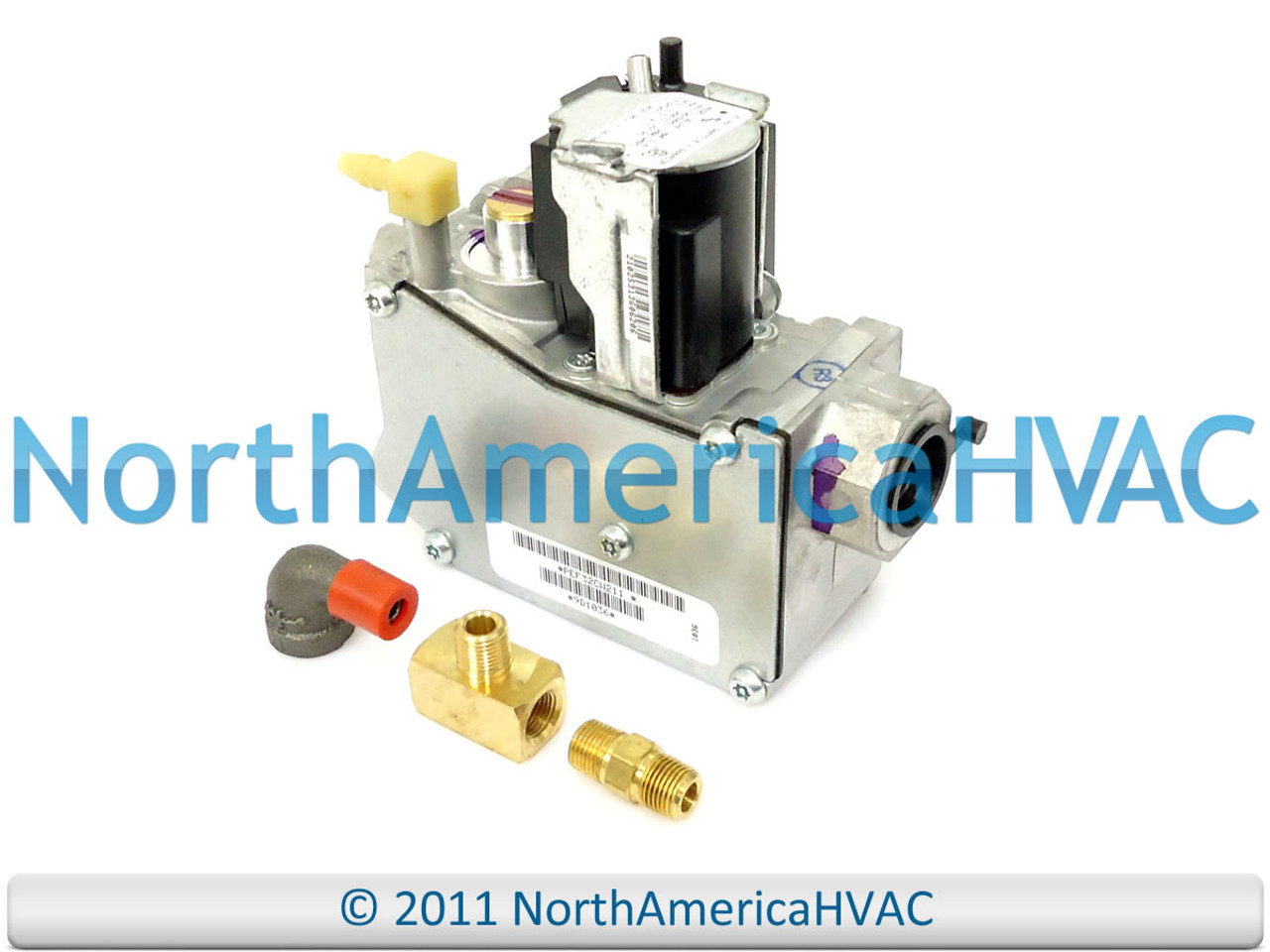 White Rodgers Furnace Gas Valve with LP Kit Single Stage 24 Volt 36J24-206