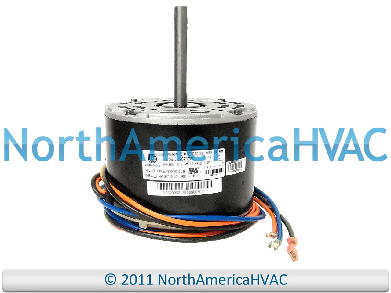 [SCHEMATICS_4FR]  621720 6217200 - OEM Intertherm Nordyne Miller Condenser FAN MOTOR 1/8 HP -  North America HVAC | Intertherm Wiring Diagram Condenser |  | North America HVAC