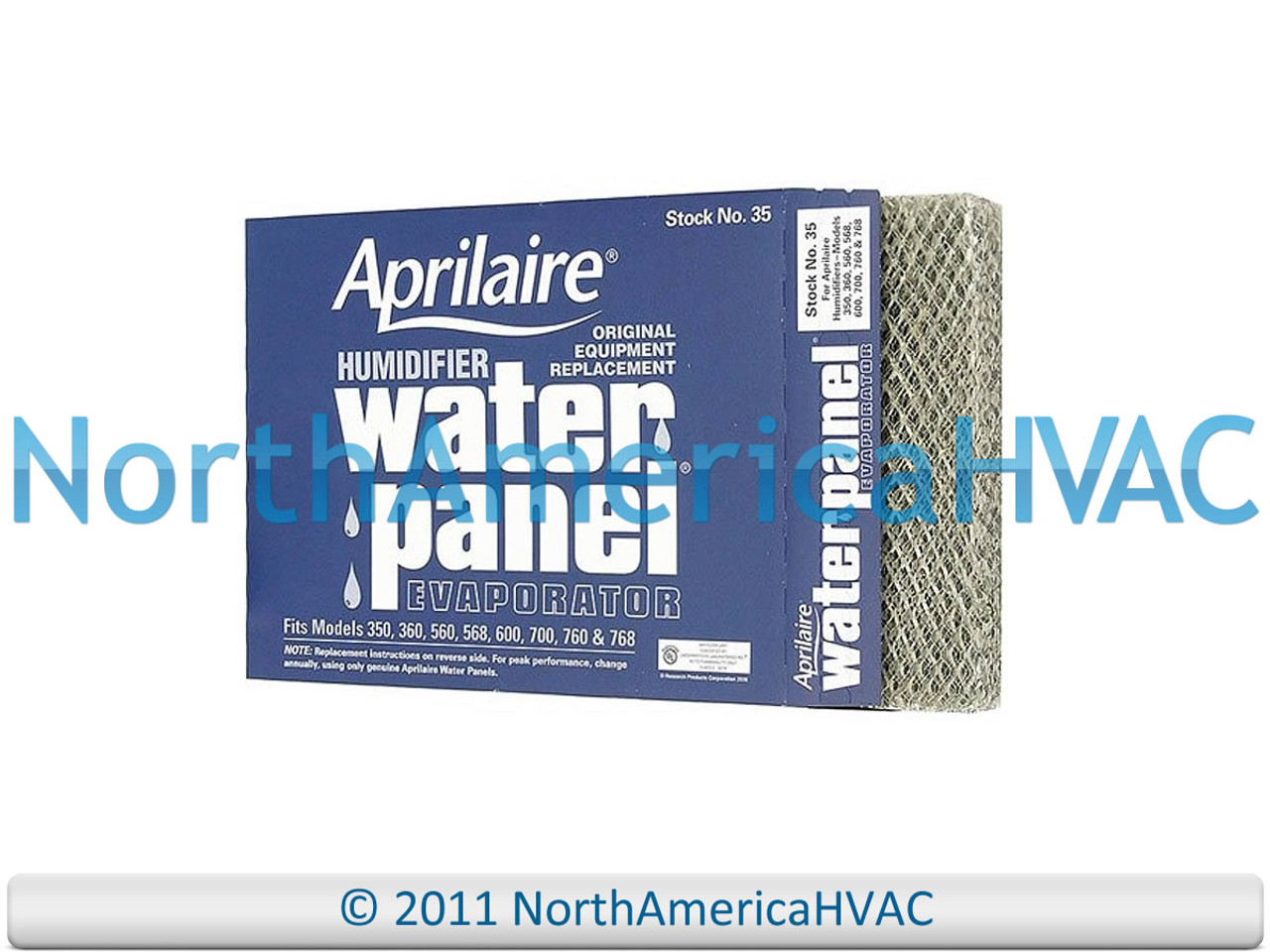 2 Pack OEM Aprilaire 35 Humidifier Water Panel 350 360 560 568 600 700 760 768