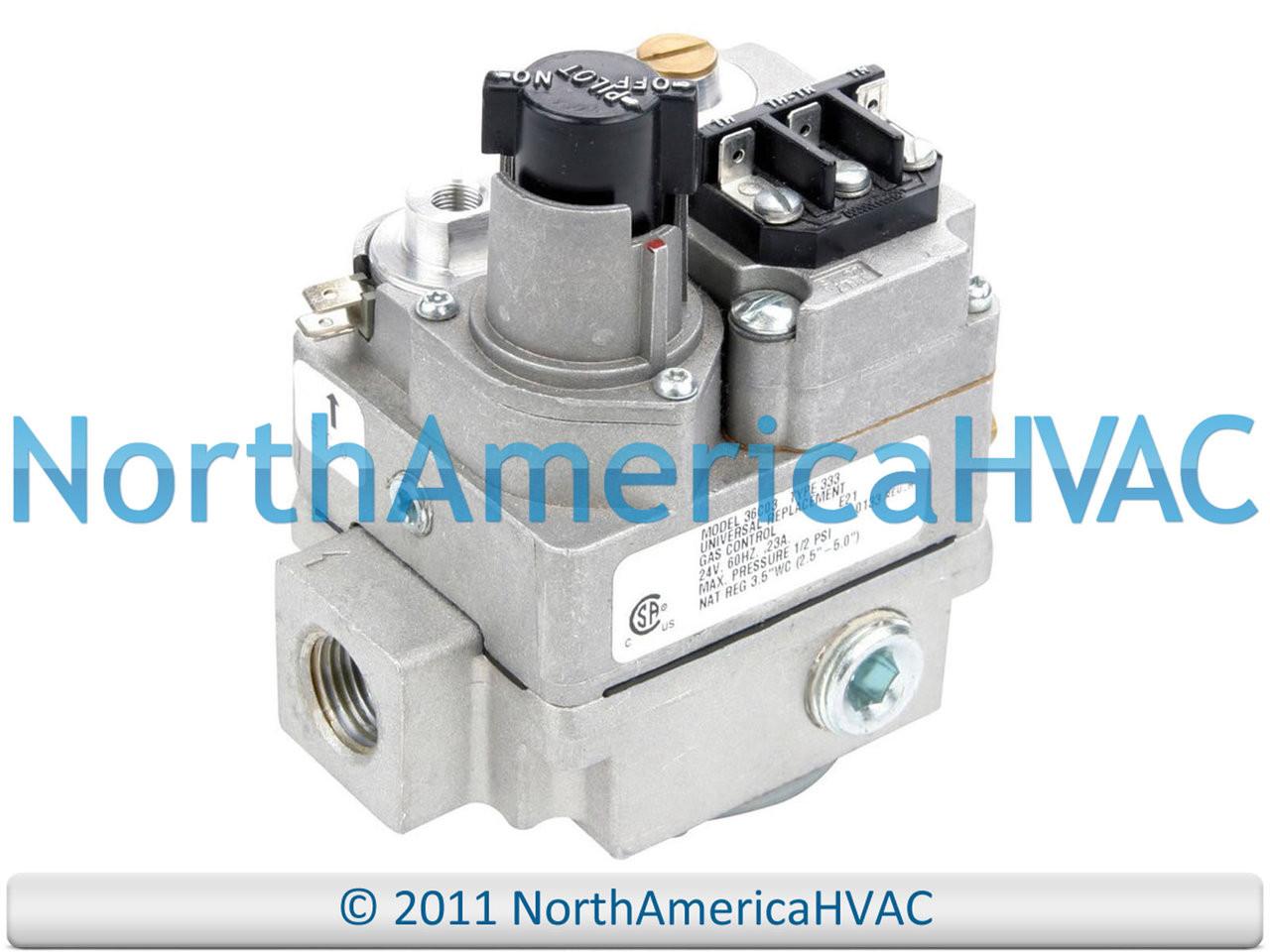 White Rodgers Furnace Gas Valve 36C76-471 NAT//LP Gas