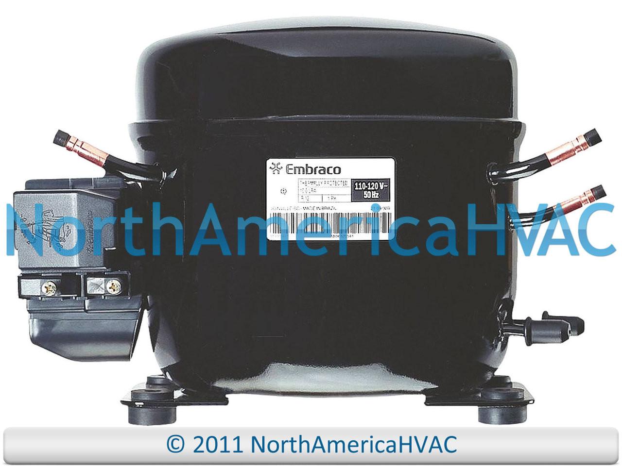 Refrigeration Compressor 1/3 HP R-134A Fits Tecumseh # AE630AR-717-J7 -  North America HVAC | Aea4440yxa Compressor Wiring Diagram |  | North America HVAC