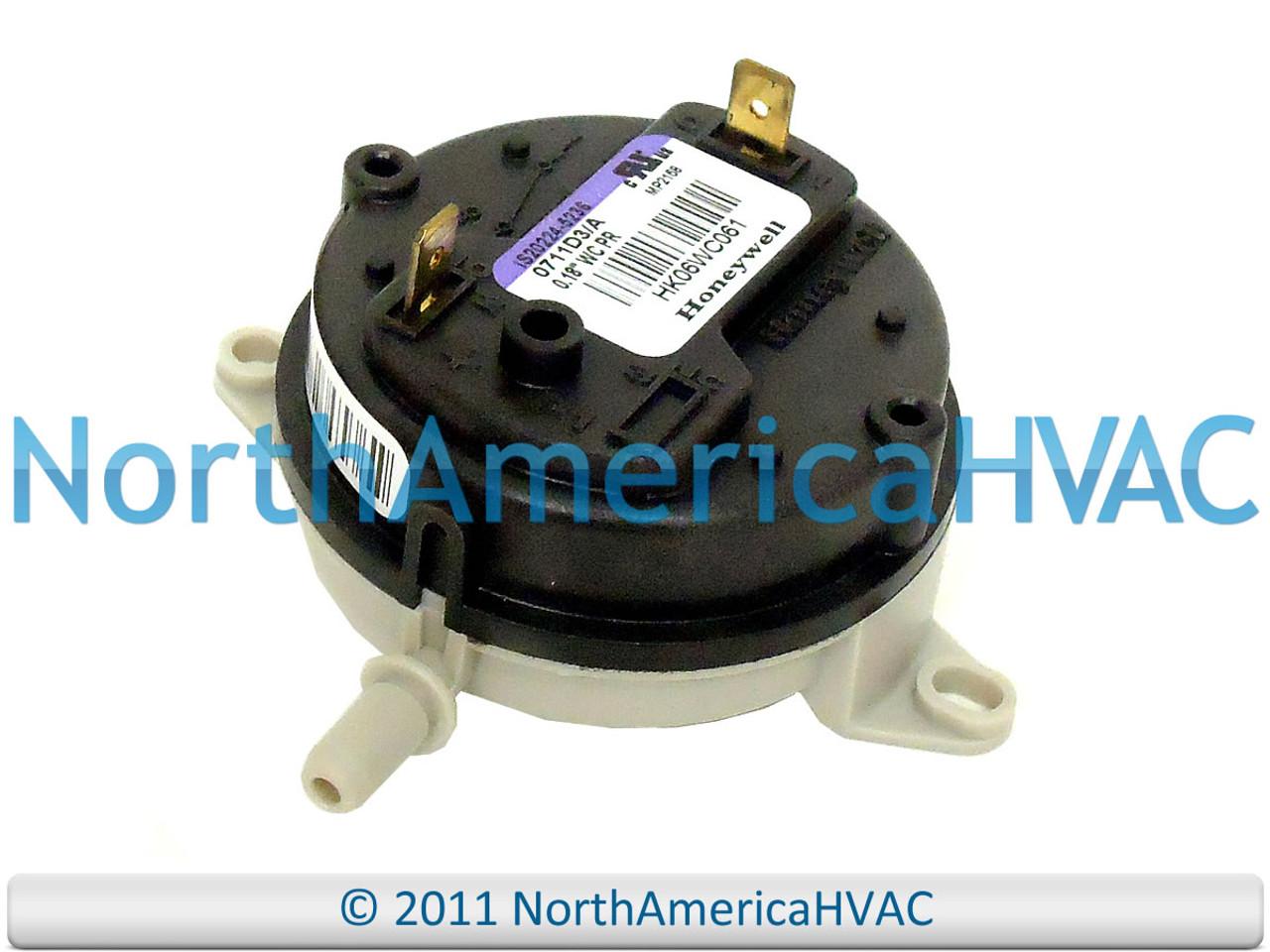 Icp Heil Tempstar Furnace Pressure Switch 1011739