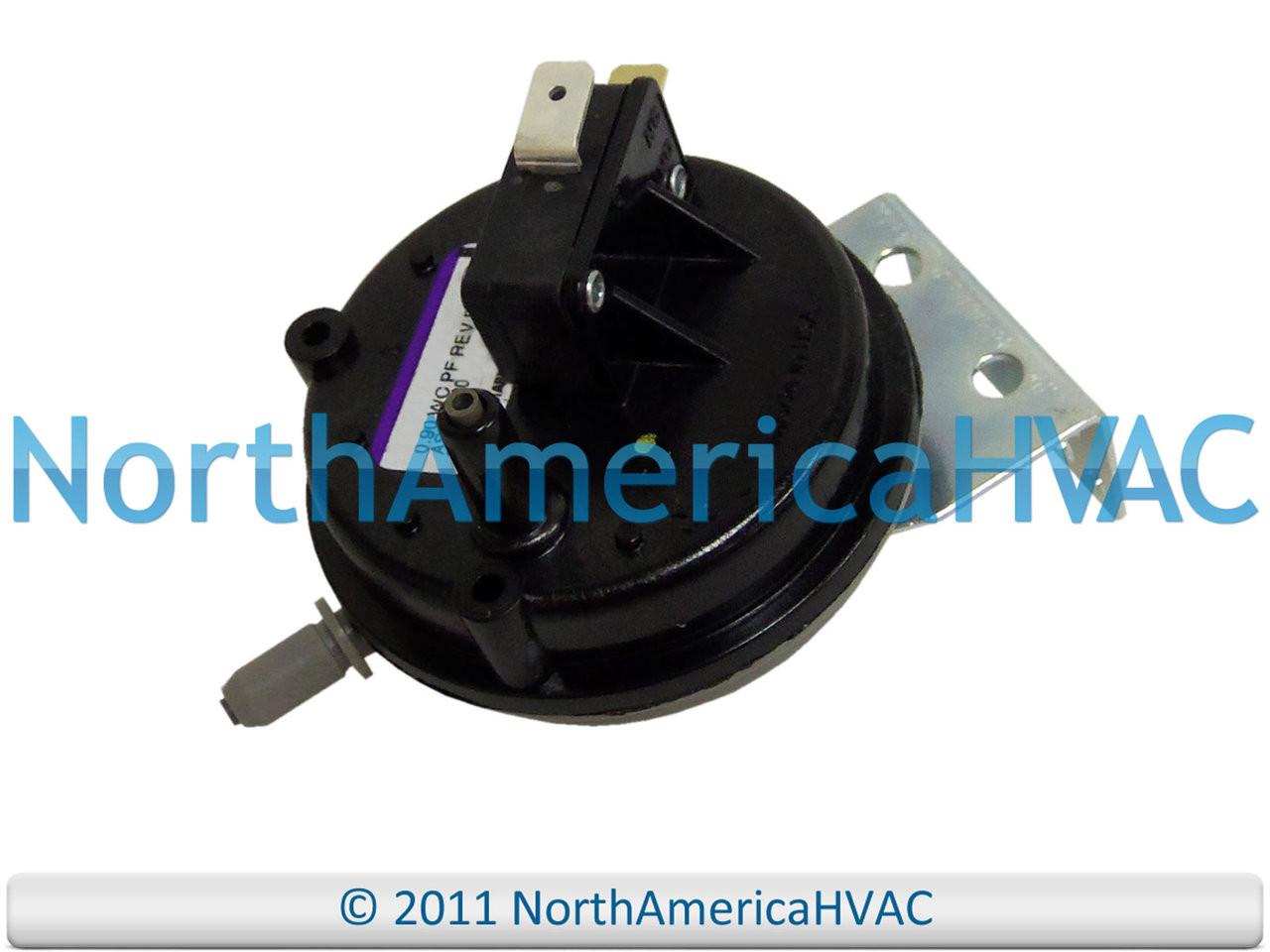 Furnace Air Pressure Switch Fits Lennox Armstrong Ducane 10U94 10U9401  0.90