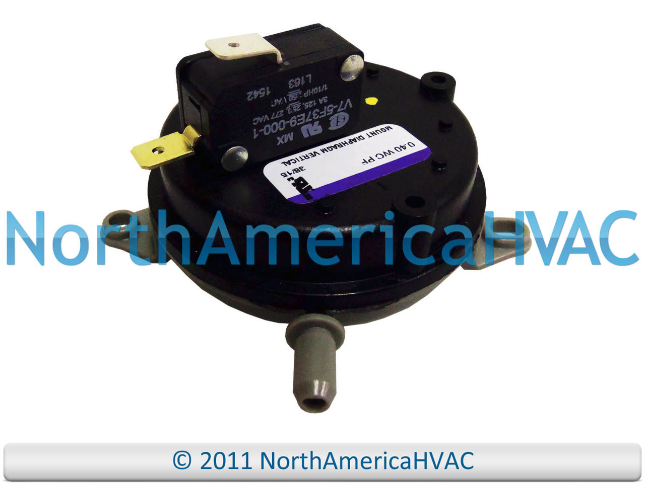 20011140 Honeywell OEM Furnace Replacement Air Pressure Switch