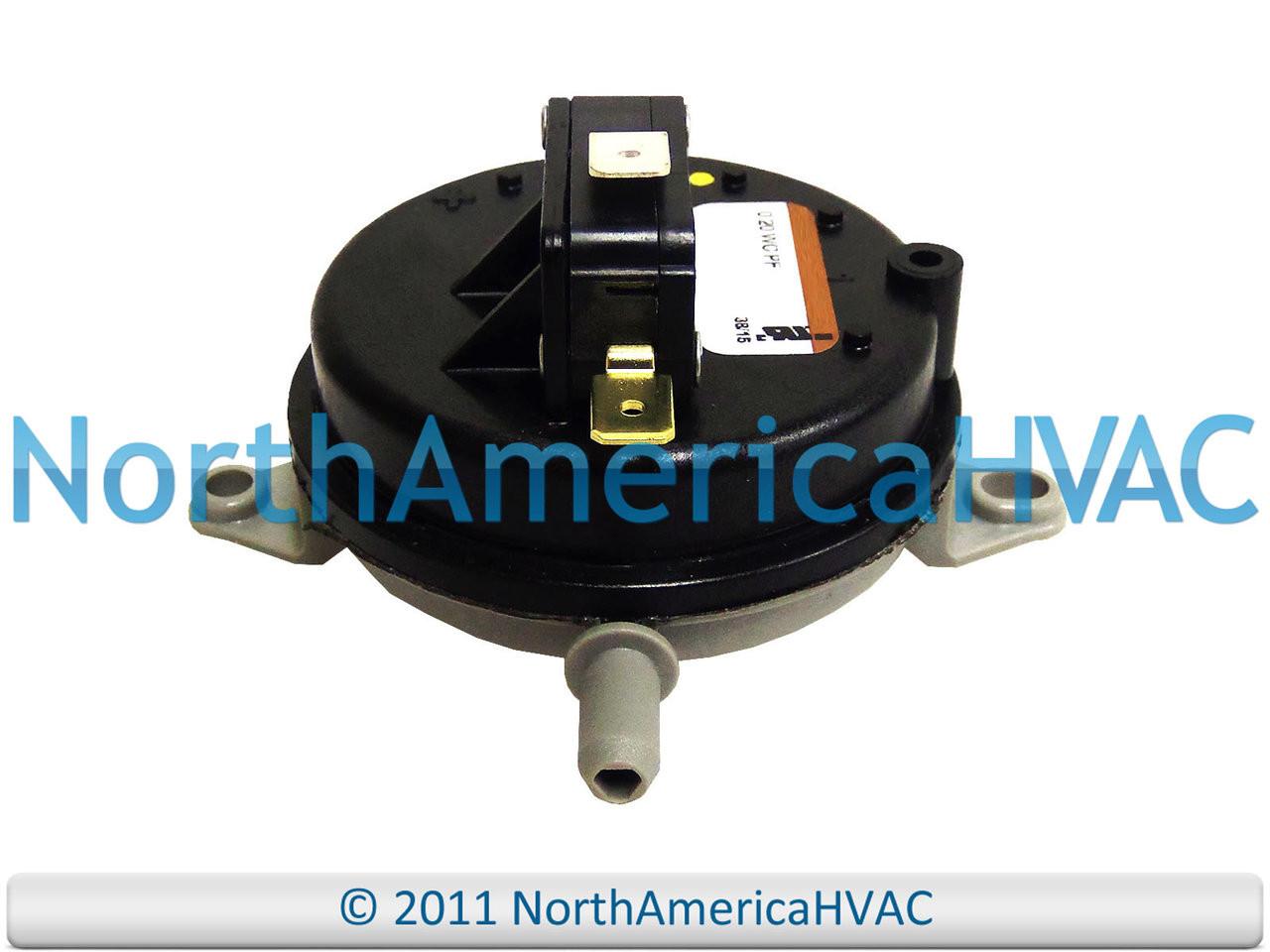 "Trane Honeywell Air Pressure Switch IS20145-3311 0.50/"""