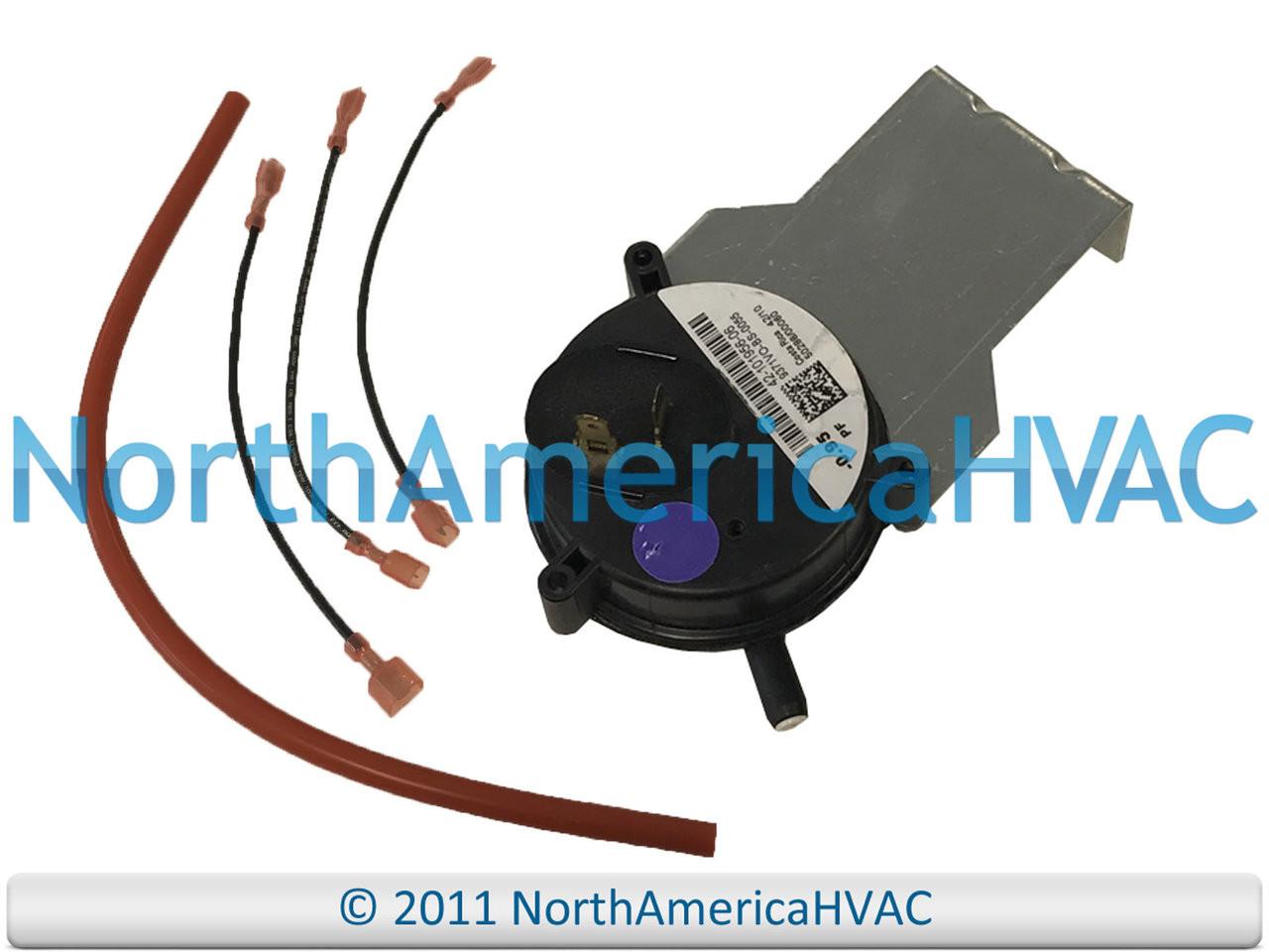 Rheem RUUD Furnace Air Pressure Switch 42-24196-82 0.80