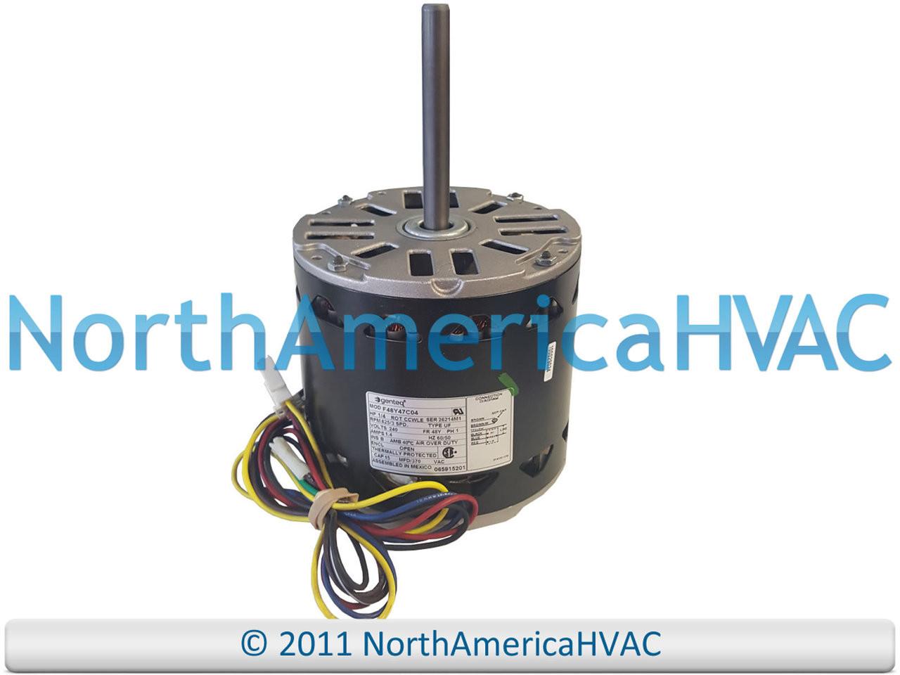 OEM Lennox Armstrong Ducane 1/4 HP 240v Furnace Blower Motor 41W51 41W5101  - North America HVACNorth America HVAC