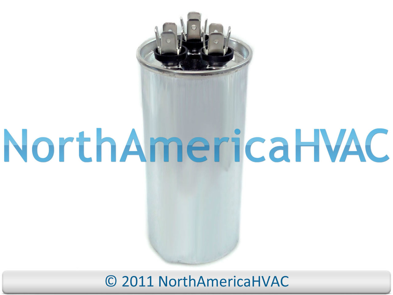 fits Armstrong # R38514D005 ClimaTek Round Capacitor 40//5 uf MFD 370//440 Volt VAC