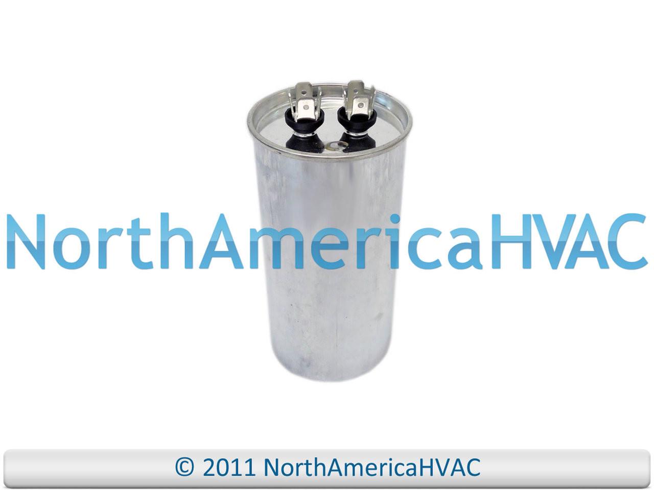 4 uf MFD 440 Volt VAC 12891 Motor Dual Run Capacitor Round 45
