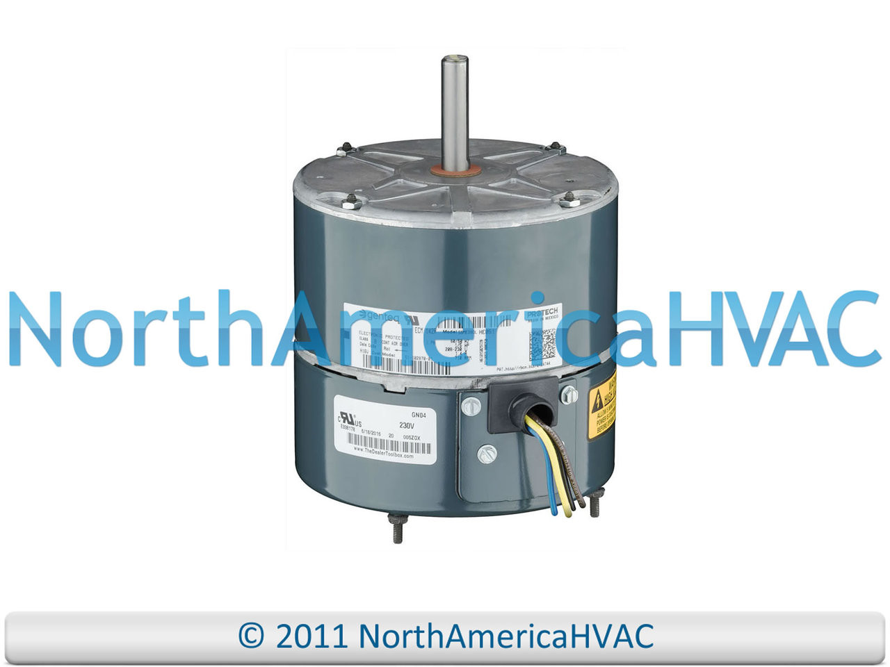 HC37GE210A Carrier OEM Upgraded Replacement Condenser Fan Motor 1//5 HP 230 Volts