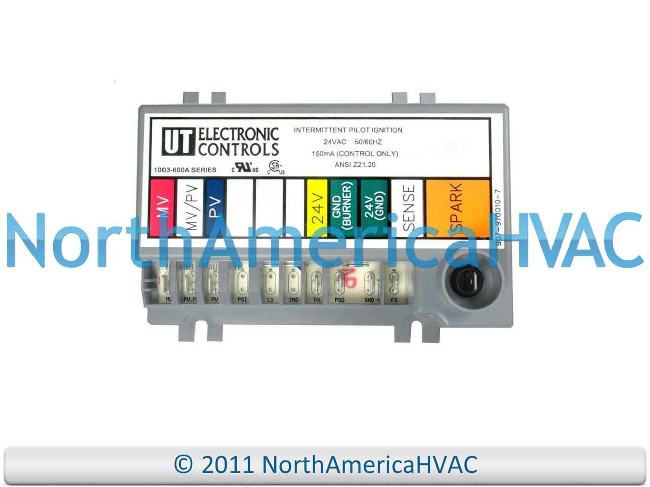 OEM Rheem Ruud Furnace Control Circuit Board 47-102077-05