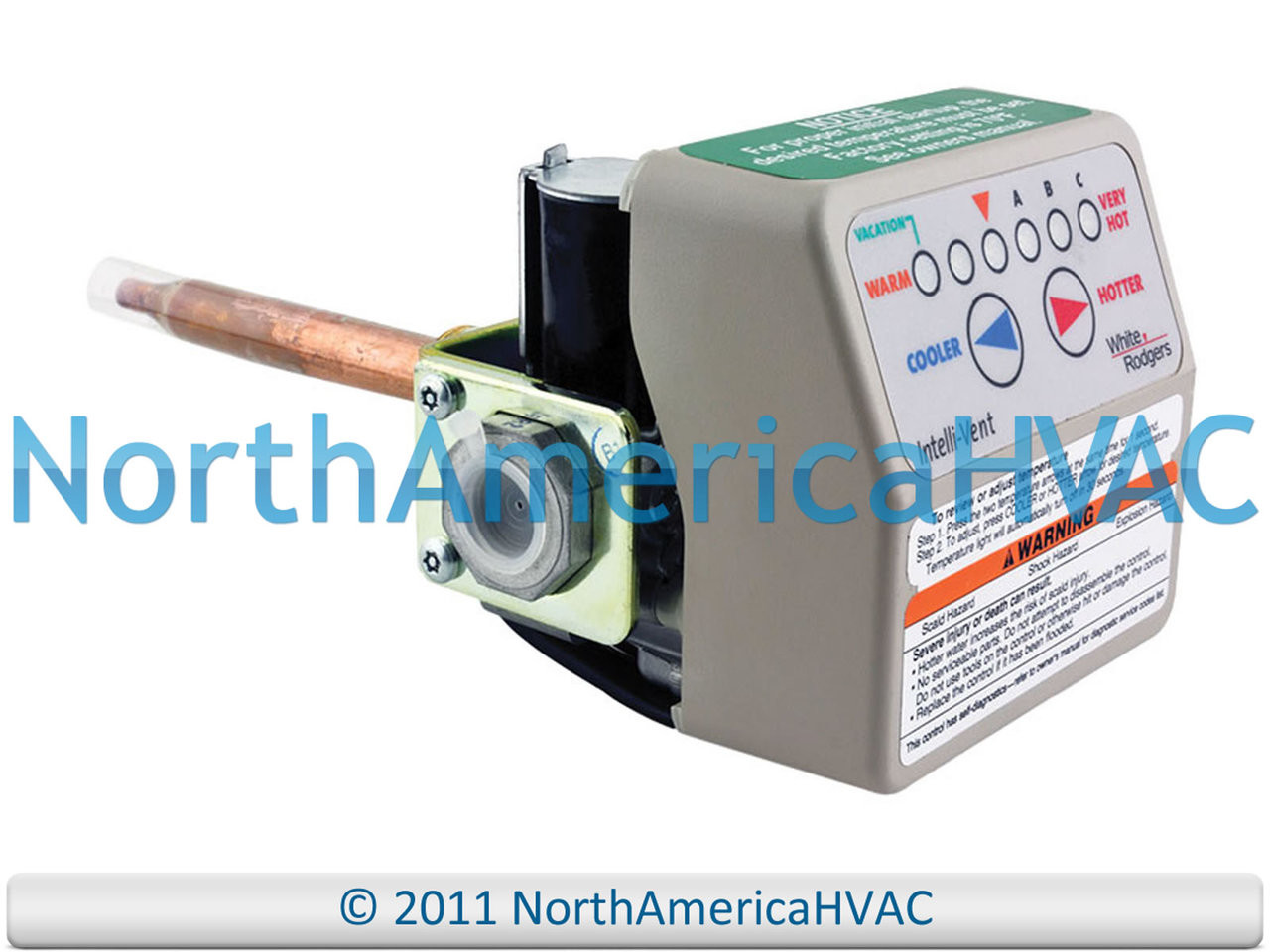 SP20303A Vanguard Upgraded OEM Water Heater Gas Valve Thermostat ...