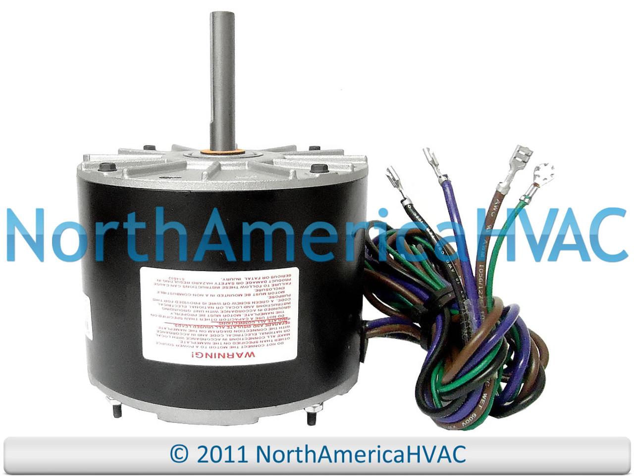 OEM York Coleman FAN MOTOR 1/4 HP 208-230v 024-36243-000 S1-02436243000 -  North America HVACNorth America HVAC