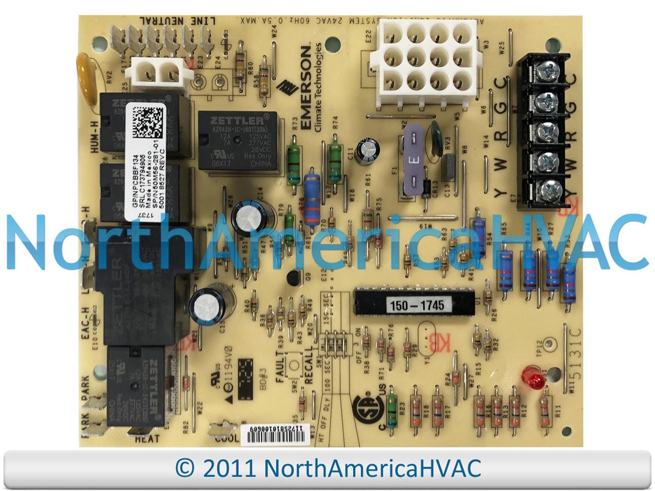 OEM Goodman Amana Furnace Control Circuit Board PCBBF138 PCBBF138S - North  America HVAC | Hvac Control Board Wiring |  | North America HVAC