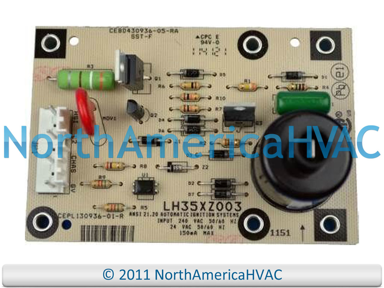 Carrier Bryant Payne Control Circuit Board HK61EA001