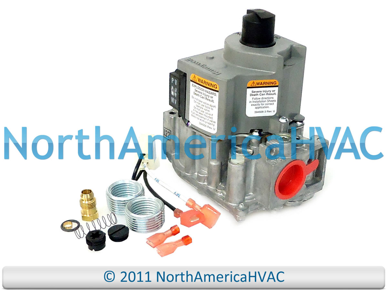 VR8205H8016 Upgraded Replacement for Ruud Furnace Control Gas Valve