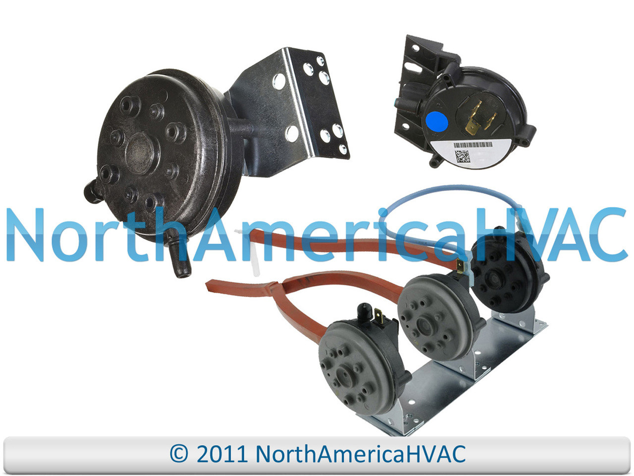 "OEM Rheem RUUD Furnace Air Pressure Switch 42-24064-01 .30/"""