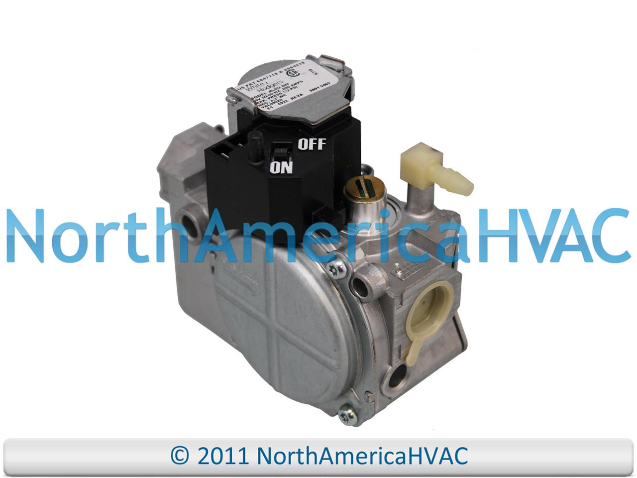 OEM White Rodgers Gemini Furnace Gas Valve 36G22 209 Trane American Standard
