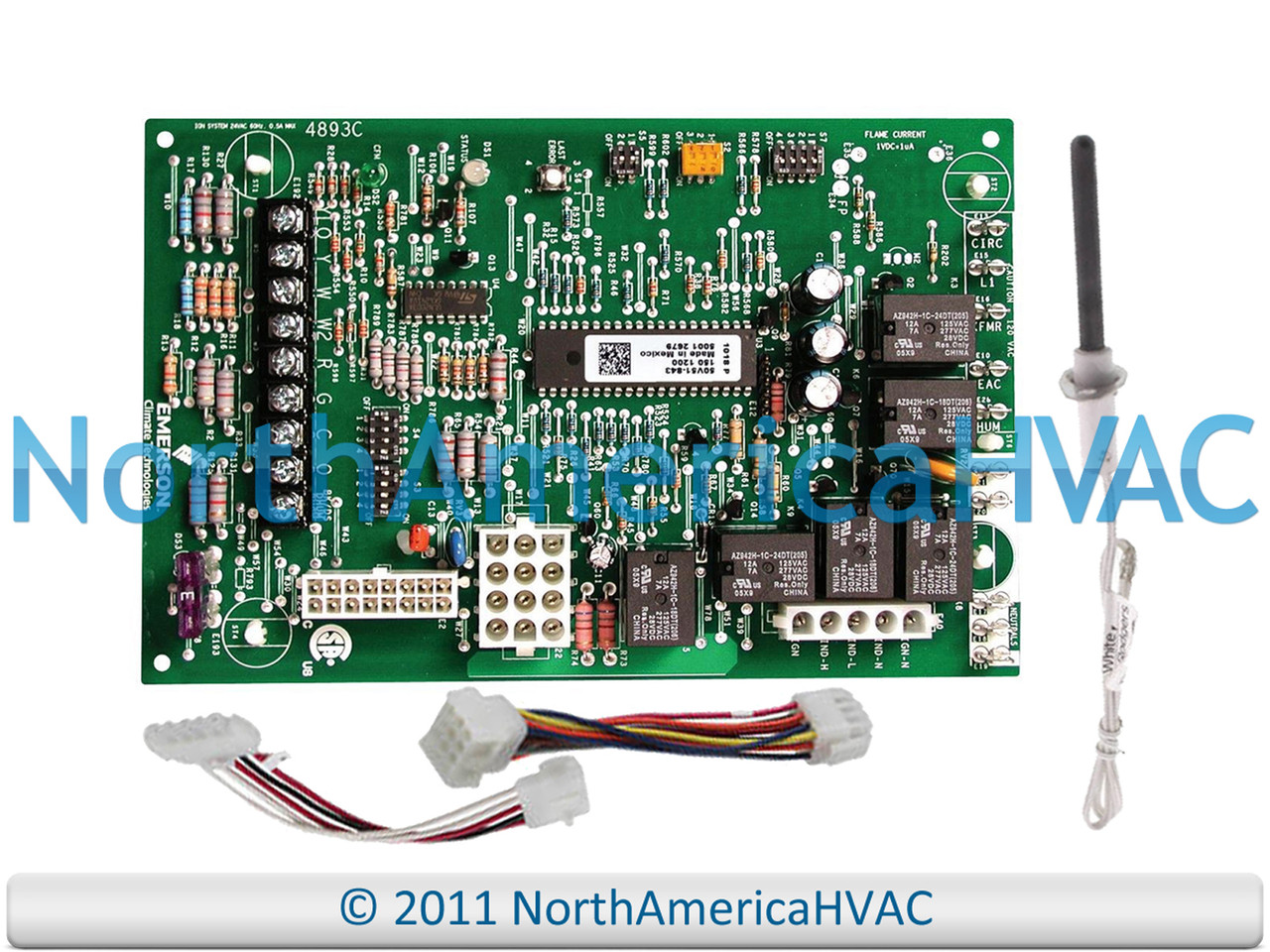 Lennox Armstrong Ducane 2Stg Furnace Control Circuit Board Module 49M59  49M5901 - North America HVACNorth America HVAC