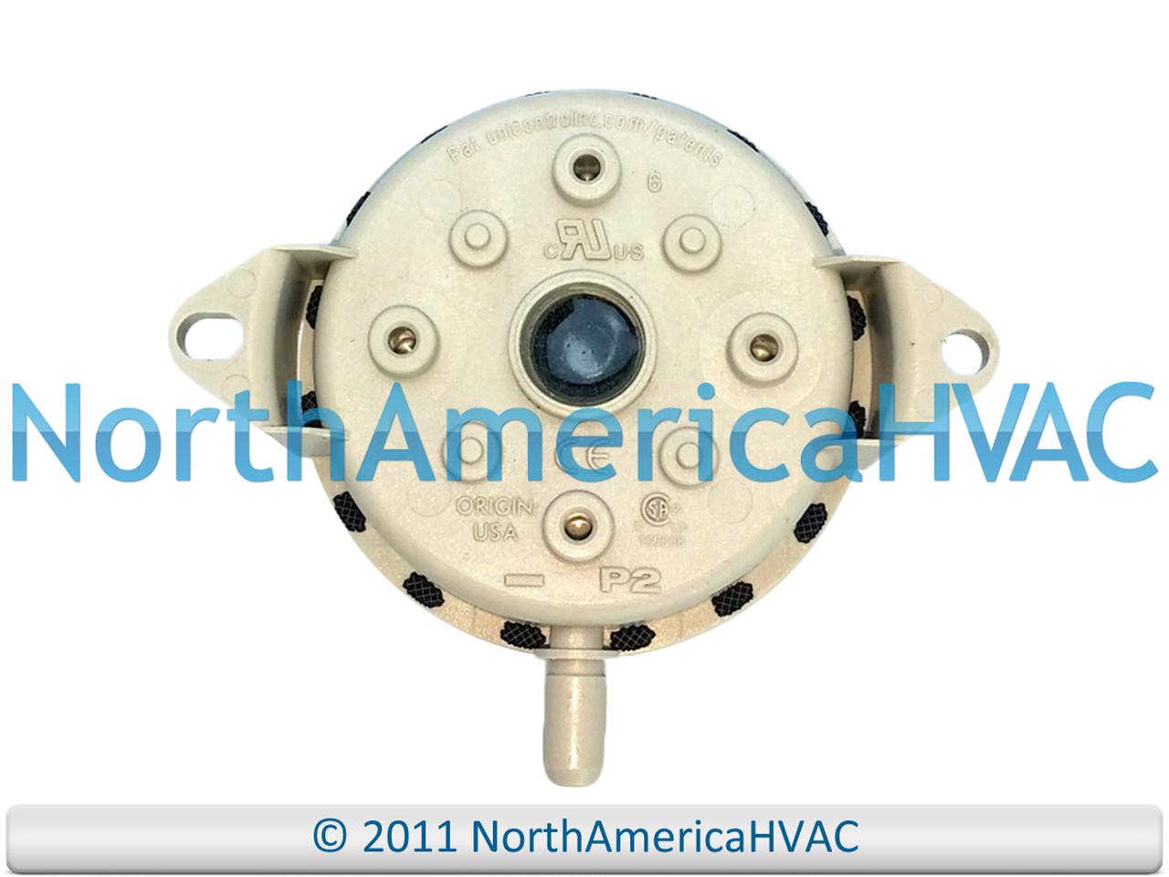 Pellet Stove Vacuum Shutdown Pressure Switch PSCUVS