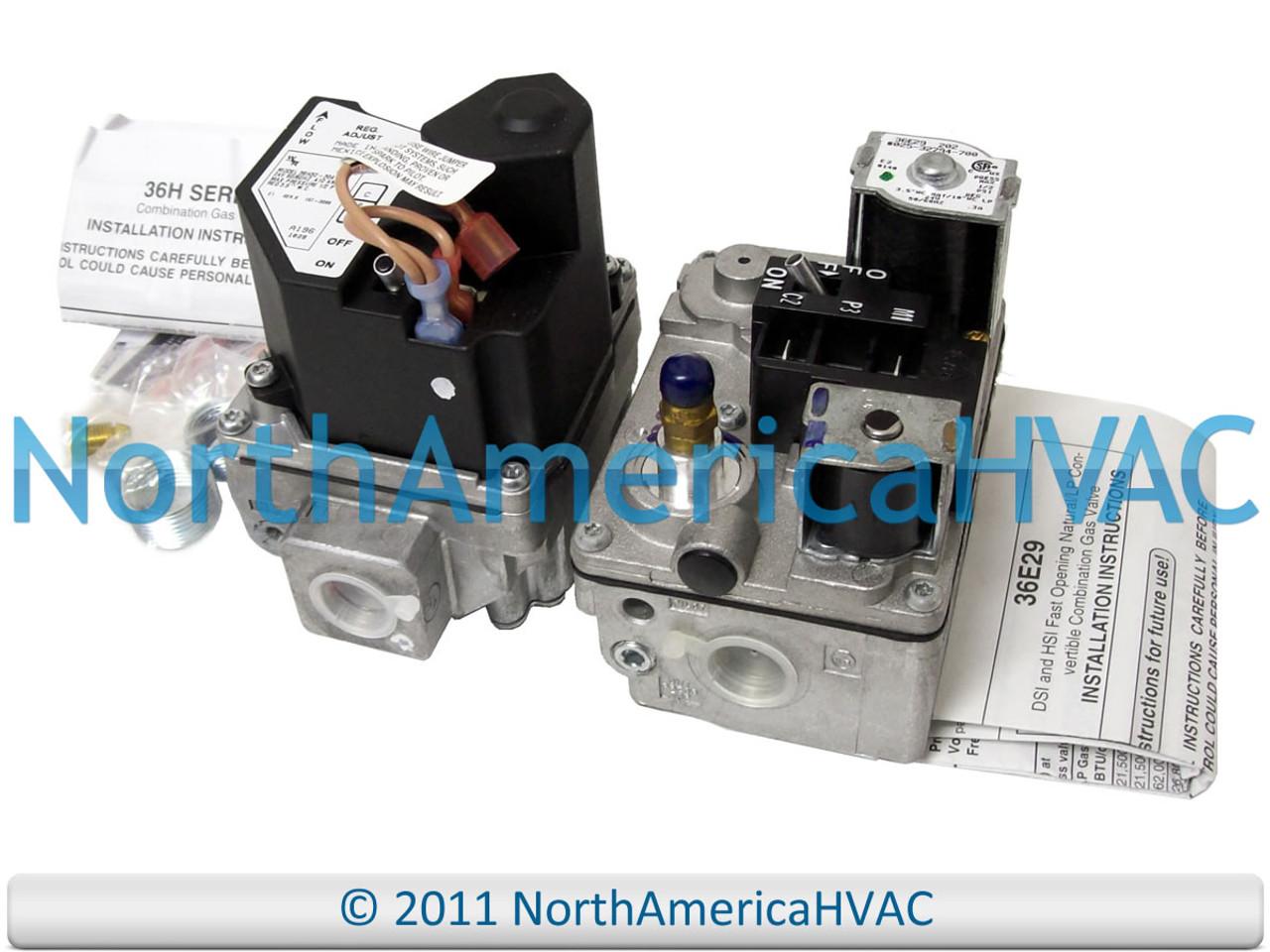Intertherm Nordyne Miller Furnace Control Gas Valve VR8205S2890 VR8205S 2890