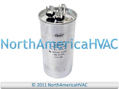 Round 80//7.5 uf MFD 370 440 Volt VAC USA Cap Replaces 27L522 GE Genteq Capacitor