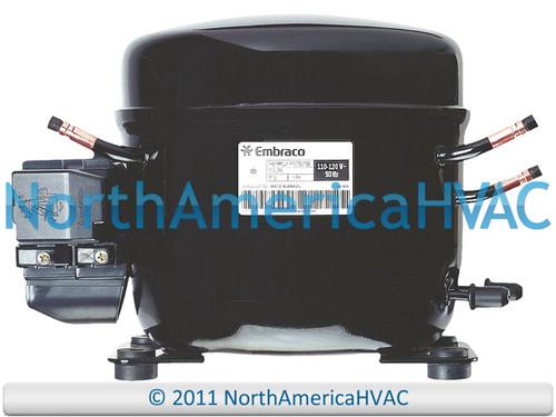 EMBRACO EME60HER Replacement Refrigeration Compressor 1/5 HP R-134A R134A 115V