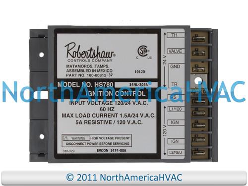 Robertshaw Ignition Control Board H5780-17NR-306A 100-00812-37 100-00812-44
