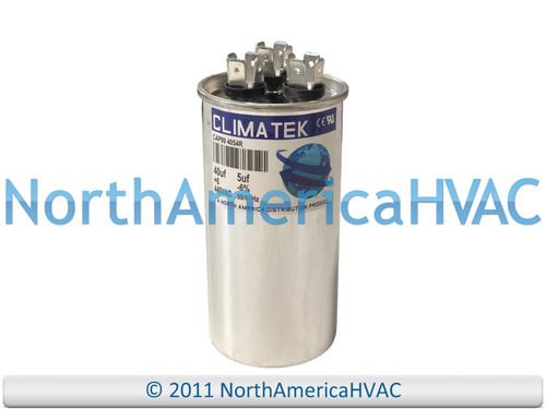 ClimaTek Dual Run Capacitor 40/5 uf MFD 370 / 440 Volt VAC