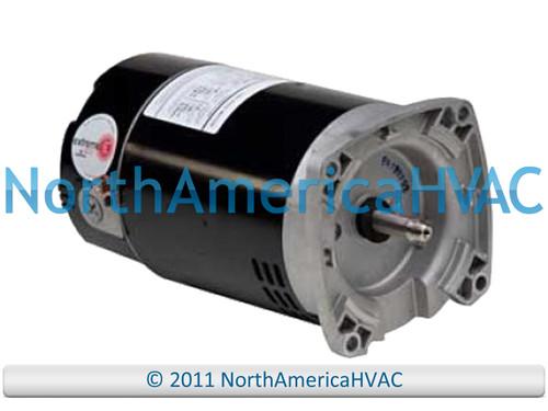 Climatek Round Flange Pool Spa Pump Motor 1 HP 187332 193267 193985
