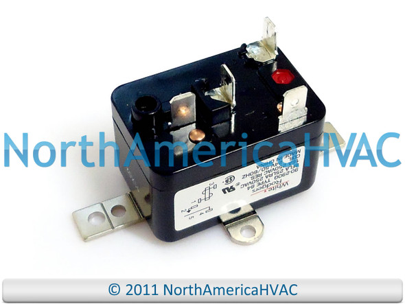 Furnace Fan Blower Relay Fits Trane American Standard RLY2037 RLY02037 24  volt coil - North America HVACNorth America HVAC