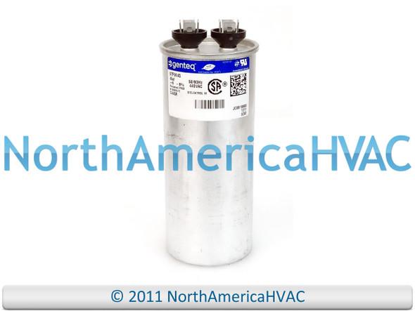 15 uf MFD 370//440 Volt VAC ClimaTek Oval Capacitor fits Trane # CPT753 CPT0753