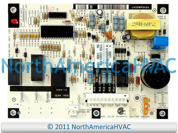 LH35XZ003 OEM Upgraded Replacement for Bryant Circuit Board