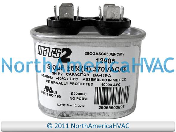 Mars Mars2 Round Capacitor 12.5 uf MFD 370 volt 12999