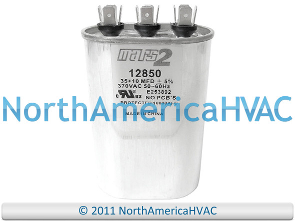 Lennox Armstrong Ducane Dual Run Capacitor 35//5 uf MFD 440 Volt  46F44 46F4401