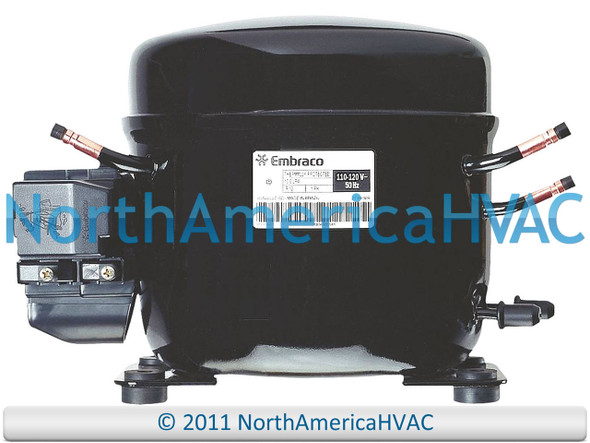 EMBRACO EMI60HER Replacement Refrigeration Compressor 1/5 HP R-134A R134A 115V