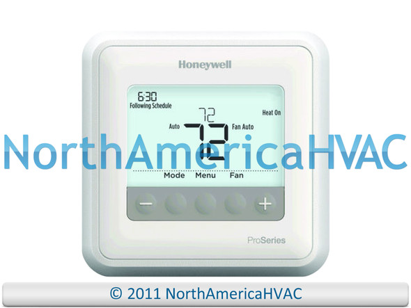OEM Honeywell T4 Pro Programmable 1H/1C Thermostat TH4110U2005/U
