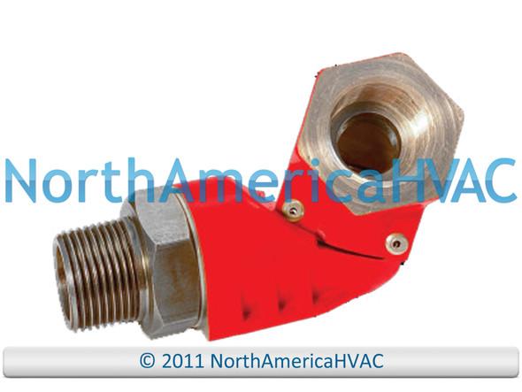 "Climatek Swivel Gas Hose Connector Fitting 3/4"" SM75 SW75"