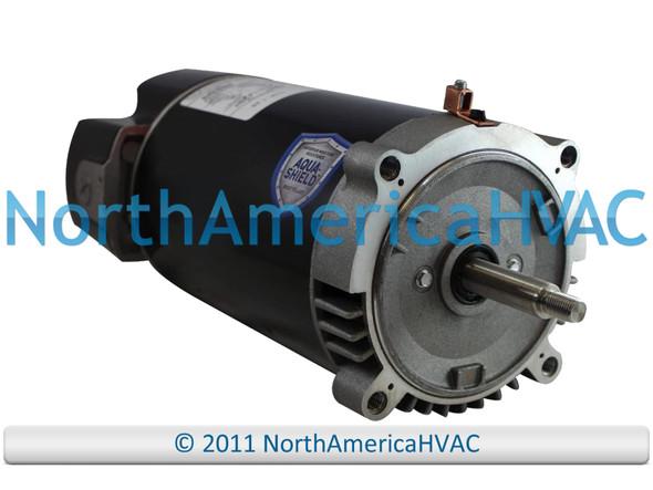 Climatek Round Flange Pool Spa Pump Motor 1.25 HP 8-177019-20 8-177019-22