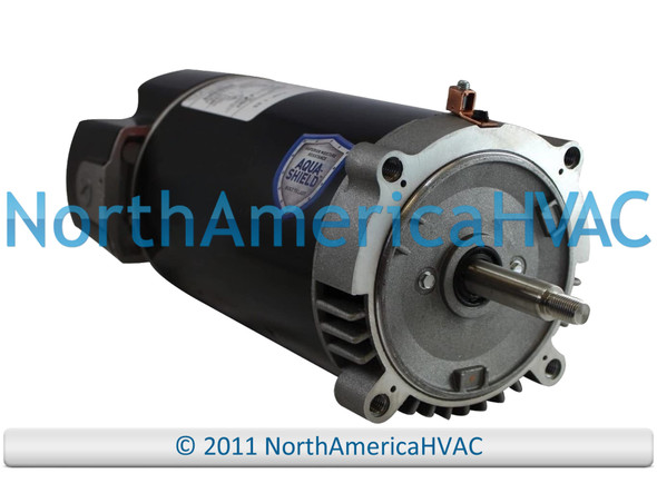 Climatek Round Flange Pool Spa Pump Motor 1.5 HP 1615Z-1-B4C 1615Z-1-BC 1D193