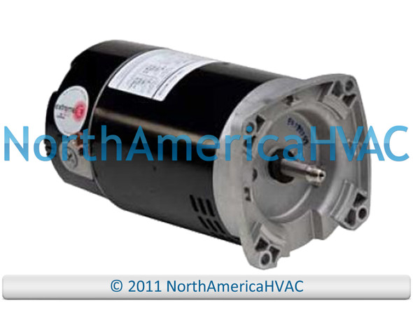 Climatek Round Flange Pool Spa Pump Motor 1 HP 1D189 355339 3K032