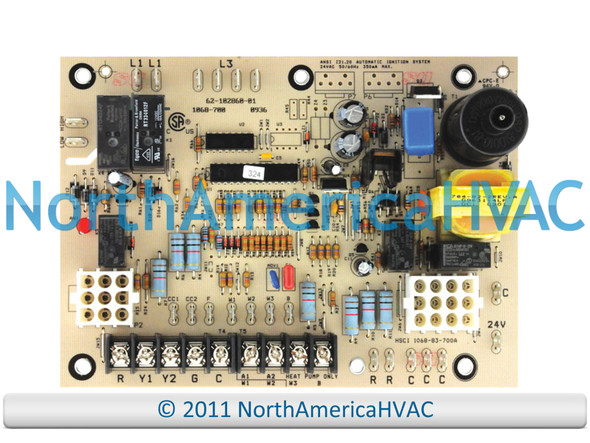 OEM Rheem Ruud WeatherKing Furnace Control Circuit Board 62-102860-01 1068-700