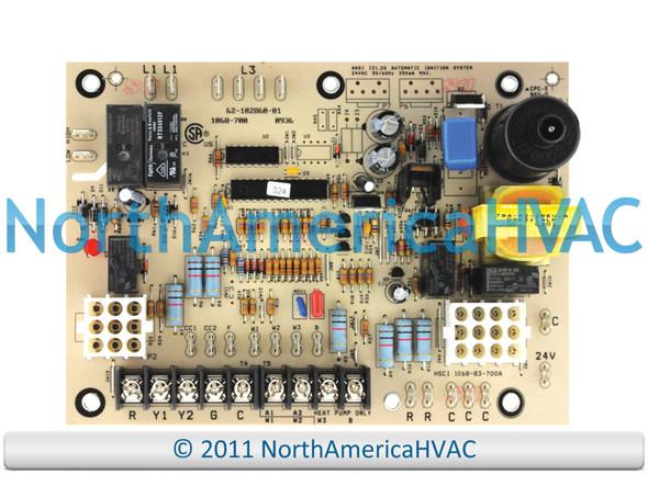 OEM Rheem Ruud WeatherKing Furnace Control Circuit Board 1068-700 62-102860-01