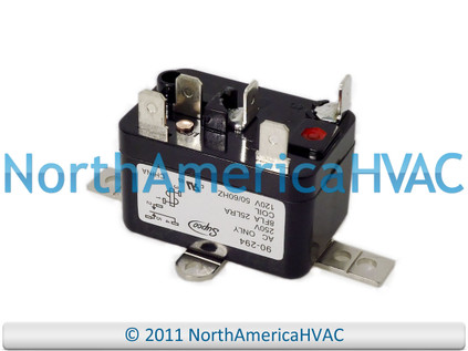 NEW  White Rodgers Packard 15 17 KW Heat Sequencer Relay 33832 24A34-5 HS24A345