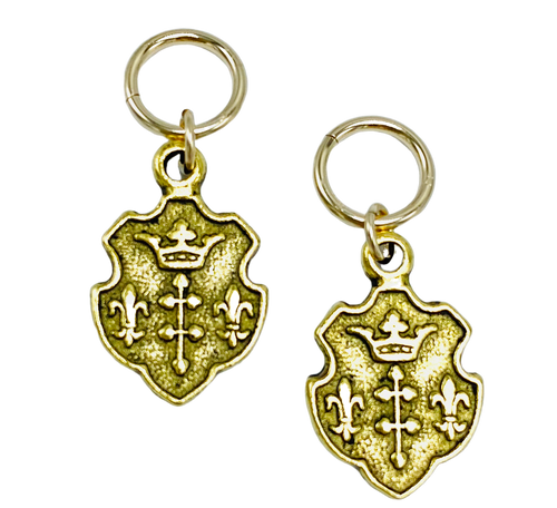 Gold Shield Charms II