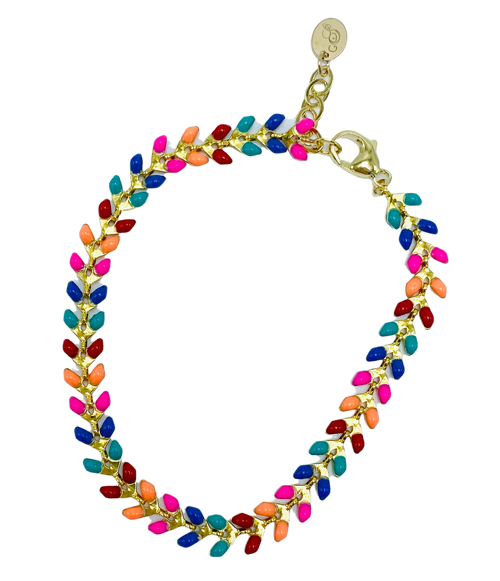 Colorful Enamel Bracelet
