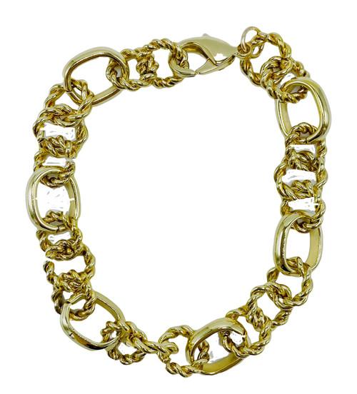 Heavy Gold Bracelet