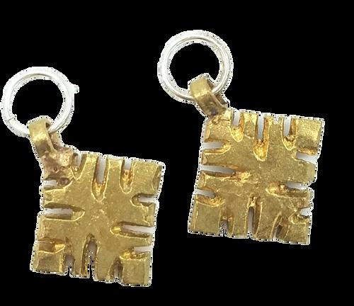 Vintage Gold Tibet Charms